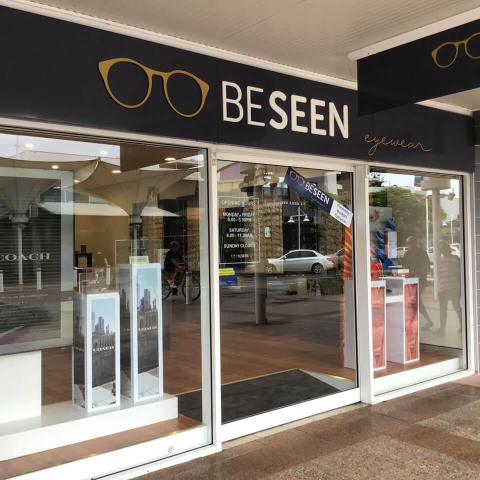 Be Seen Eyewear | Shopfront Ballina